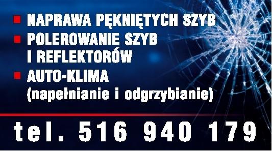 Naprawa pękniętych szyb - Mysłowice